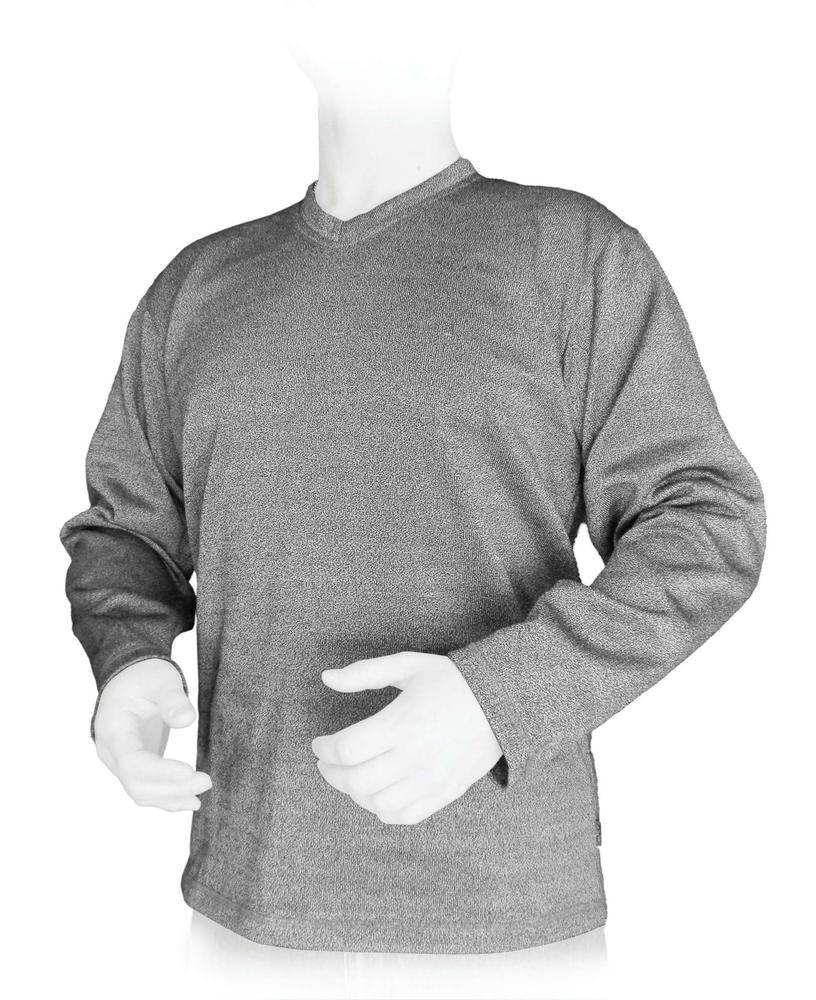 PPSS Cut-Tex®PRO丨V领长袖卫衣丨防刀割T恤丨防刀衣丨防砍服丨防砍衣丨PotentWear